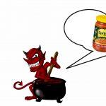 Povestea borcanului de zacuscă lăsat pe Pământ de Satana să râdă de noi